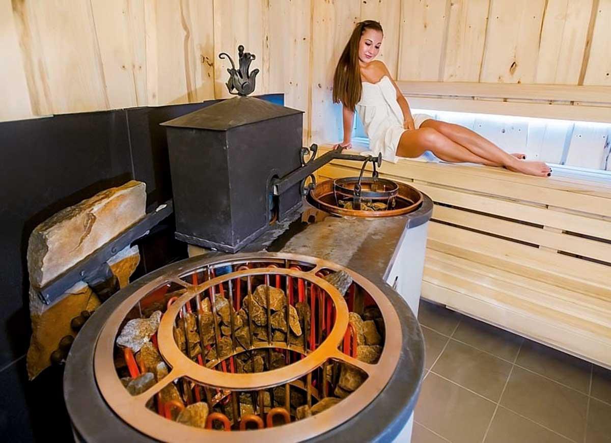 Kombinovaná sauna - Wellness technik